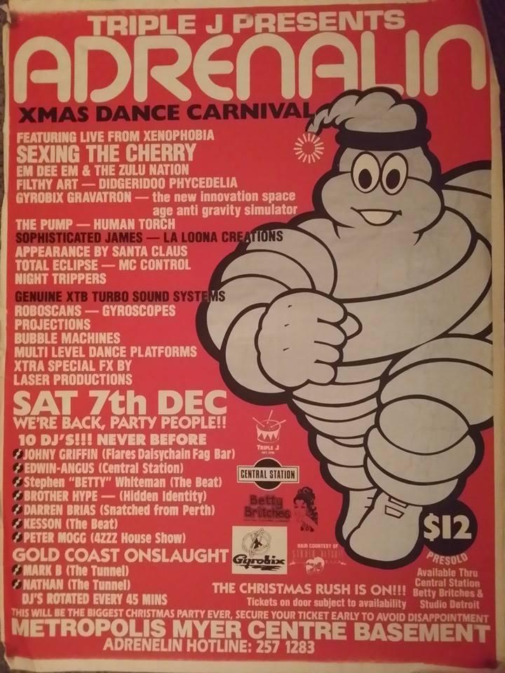 flyers + art + publications | brisbane dance parties archive